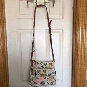 Disney Dooney bourke sketch carrier crossbody
